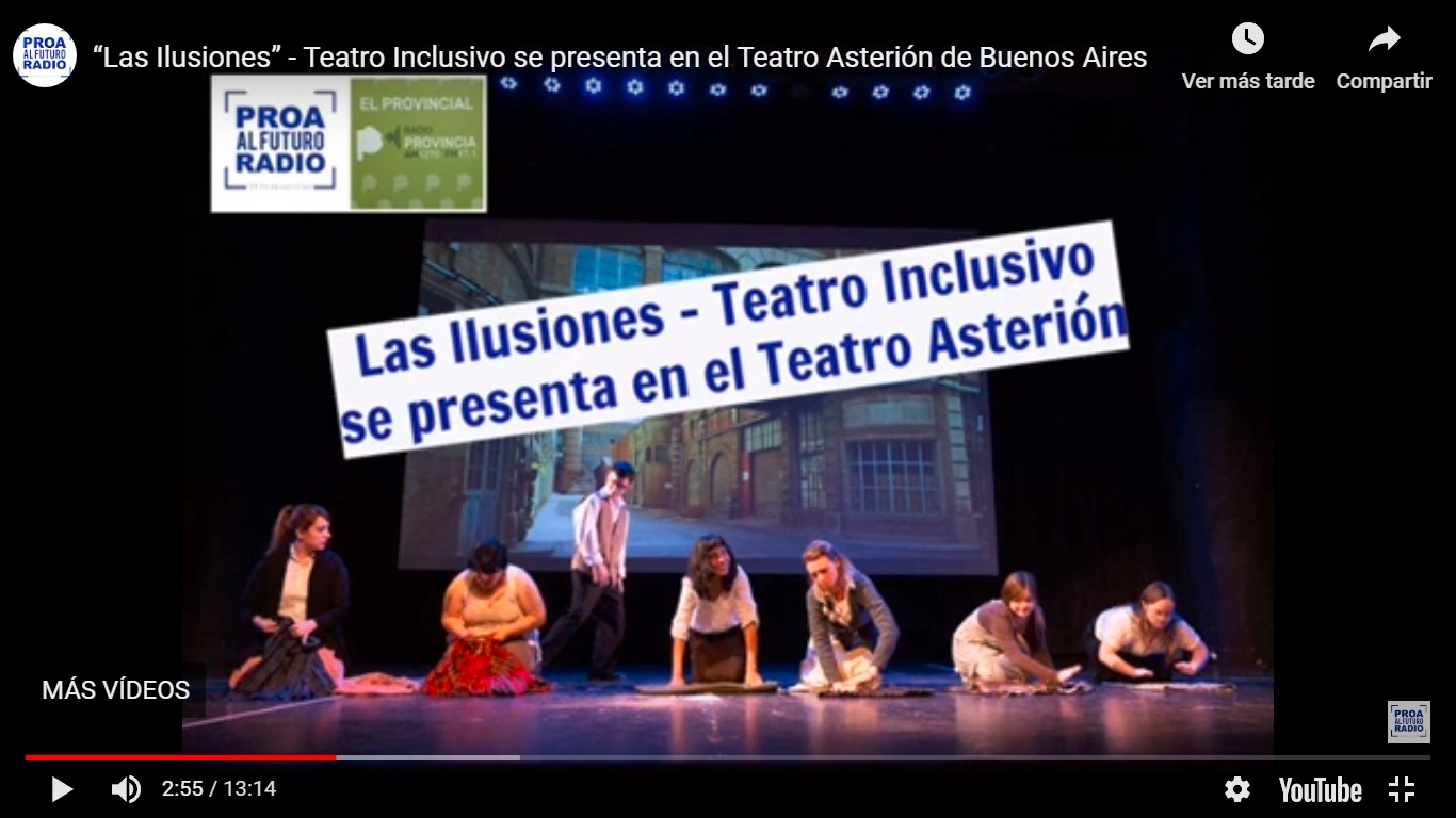 Ciclo de teatro Inclusivo – Radio AM 820